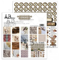 A.B Studio 12x12 Paperset - Collected Moments