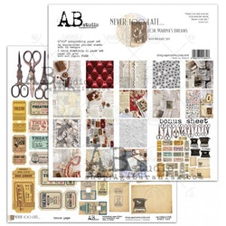 A.B Studio 12x12 Paperset - Never too late