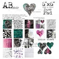A.B Studio 6x6 Paperpad - Forever Love