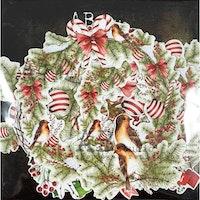 A.B Studio Die-cuts ephemera - Christmas elements