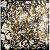 A.B Studio Die-cuts ephemera - Flowers elements