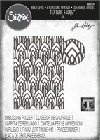SIZZIX/TIM HOLTZ Embossinfolder - Arched