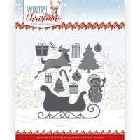 YVONNE DESIGN DIE  - Ho, ho, ho Snowman
