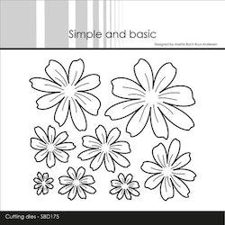 Simple and Basic die  - Flowers
