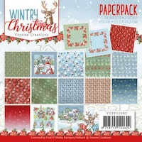 YVONNE DESIGN PAPERPAD 6x6 - Wintry Christmas