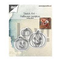 Joy Crafts -  Dies Halloween pumpkins