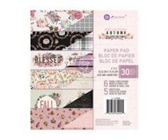 Prima Marketing 6x6 Paper Pad - Hello Pink Autumn