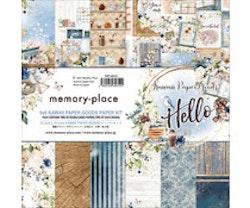 Memory Place 6x6 Paper Pad - Kawaii Paper Goods Kit Hello