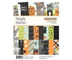 Simple Stories 6x8 Paper Pad - Spooky Nights