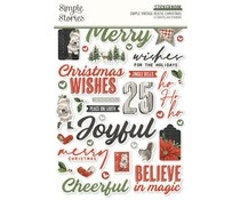 Simple Stories -  Simple Vintage Rustic Christmas ...