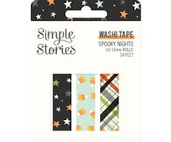 Simple Stories Washi Tape - Spooky Nights