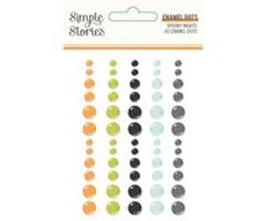 Simple Stories - Spooky Nights Enamel Dots