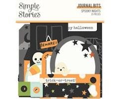 Simple Stories - Spooky Nights Journal Bits