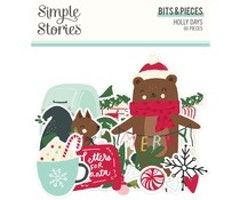 Simple Stories - Holly Days Bits & Pieces