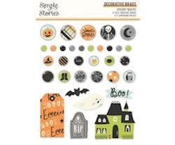 Simple Stories - Spooky Nights Decorative Brads