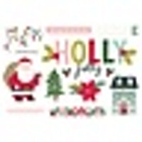 Simple Stories - Page Pieces Holly Jolly