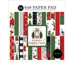 Carta Bella 6x6 Paper Pad  - Home For Christmas