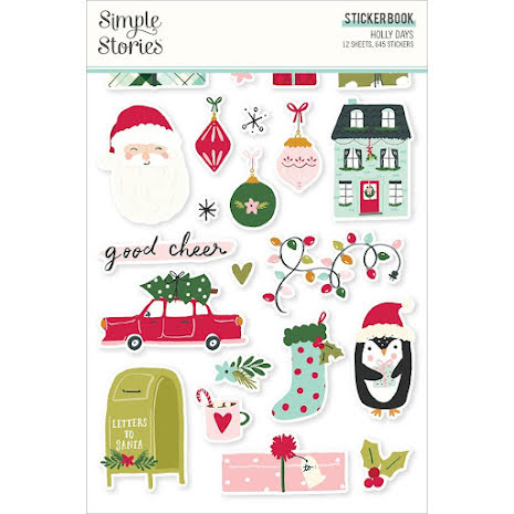 Simple Stories - Holly Days Sticker Book