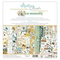 Mintays Papers 12 X 12 PAPER SET - OLD MANOR 07