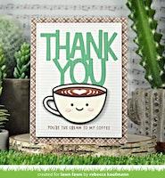 Lawn Fawn Dies - Lovely latte