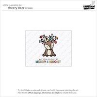 Lawn Fawn - Cheery deer