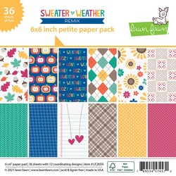 Lawn Fawn 6x6 Paper Pack - Sweater weather remix