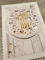 Simple and Basic - Small Pierced Scalloped Ovals