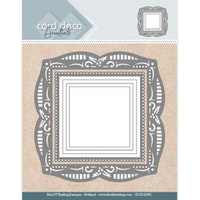 Card Deco - Aperture dies Holly Square
