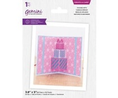Gemini Create-a-Card Dies - Christmas Pop Out Stacked Gifts