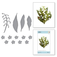Spellbinders - Lily of the Valley Etched Dies