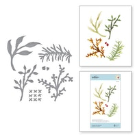 Spellbinders - Foliage and Ladybugs Etched Dies
