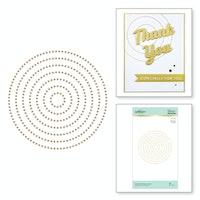 Spellbinders - Circle Pattern Hot Foil Plate