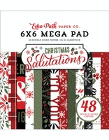 Echo Park - Salutations Christmas 6x6 Mega Pad