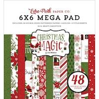 Echo Park - Christmas Magic 6x6 Mega Pad