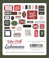 Echo Park - Salutations Christmas Ephemera