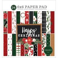Carta Bella - Happy Christmas 6x6 Paper Pad