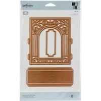Spellbinder - Grand arch 3D vignette card die set