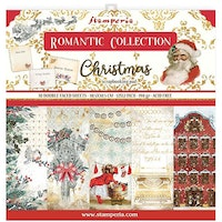 Stamperia Paper Pack 12x12 - Romantic Christmas