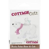 Cottage Cutz - Arctic Polar Bear & Cub
