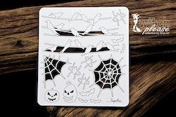Chipboard  - Halloween Set