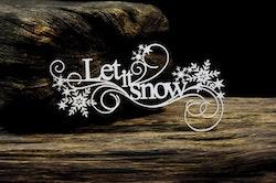 Chipboard - Let it Snow