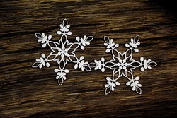 Chipboard - Snowflakes 1