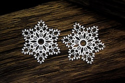 Chipboard  - Snowflakes 2