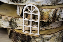 Chipboard - Layered window