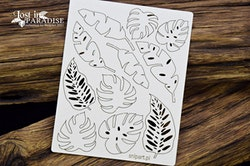 Chipboard - Exotic Monstera Leaves