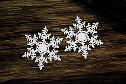 Chipboard  - Snowflakes 3