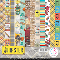 Ciao Bella Paper Pad 6x6 - Hipster