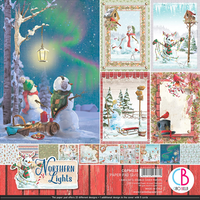 Ciao Bella Paper Pad 12x12 - Northern Ligts