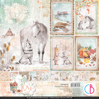 Ciao Bella Paper Pad 12x12 - Gift of Love