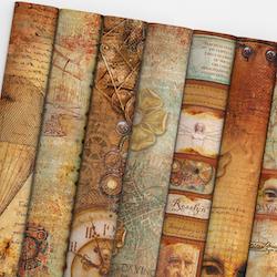 Ciao Bella Paper Pad 12x12  - Codex Leornado  Special ...